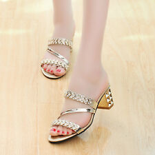 new style occident fashion crystal fish mouth Roman wedge sandals Cool slippers