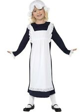Sale! Kids Victorian Poor Maid Girls Book Week Fancy Dress Costume Party Outfit