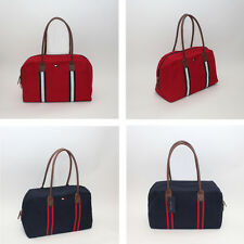 NEW Tommy Hilfiger Women's Convertible Weekender Weekend Travel Tote Canvas Bag
