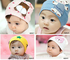 Children Girl Boy Beanies Baby Infant Hats Knit Crochet Hat Caps Cotton Baby Hat