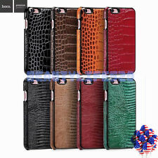 Luxury Genuine Leather Embossed Phone Case Cover for Apple iPhone 6 6S Plus New