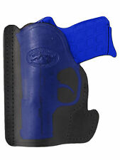 New Barsony Black Leather Pocket Holster Kimber Ruger Small 380 Ultra Comp 9mm