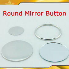 "7 sizes Mirror Button Parts Material for Maker Machine  2-3/4"" 2-3/4""  015723"