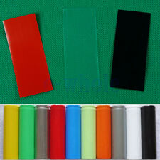 20PCS Li-ion 18650 Battery Wrap PVC Heat Shrink Tubing Precut Color Choice BE