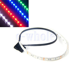 30/60CM 5050 18/36SMD LED Flexible Strip Light DIY for PC Computer Case DC12V BE