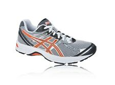 ASICS GEL OBERON 7 MENS UK 9 RUNNING SPORTS TRAINERS WHITE/ORANGE/BLACK SHOES