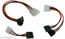 Right angle / straight Molex to SATA adapter cable, power converter, connector