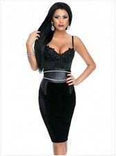 Fashion Sling Sexy Deep V-neck Backless Leather Wide Belt Hot Drill Womens Dress