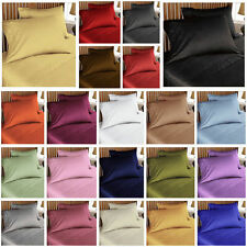 """""""QUEEN SIZE""""  ALL BEDDING ITEMS 500TC 100% EGYPTIAN COTTON - CHOOSE COLOR SIZE"""
