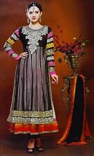 Indian Semi Stitched Designer Bollywood Salwar Kameez Anarkali Suit SUT2593A