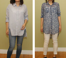 NEW Hollister by Abercrombie Womens Button Down Shirts NWT