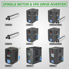 VFD DRIVE WATER COOLED SPINDLE DRIVE FREQUENCY ENGRAVING BARGAIN SALE EXCELLENT
