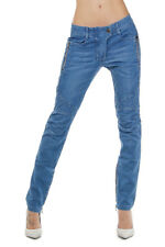 PIERRE BALMAIN Women Blue Stretch Denim Jeans Made in Italy New with Tag