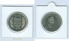 Switzerland 5 Swiss francs Currency coin (Choice Of under: 1979 - 1988)