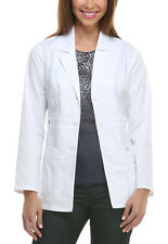 Scrubs Dickies Youtility Lab Coat White 82408   FREE SHIPPING