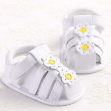 White Baby Shoes Plumeria Fashion Infant Simple Girls Toddler First Walkers