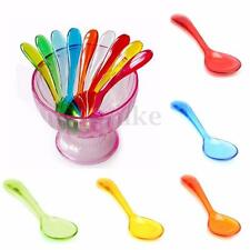 Plastic Multi-color Clear Kitchen Scoops For Party Candy Dessert Buffet Scoops