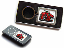 JAGUAR F TYPE Sports Car Official Koolart Premium Metal Keyring With Gift Box