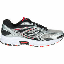 Saucony GRID COHESION 9 Mens WIDE Silver Running Sneakers Shoes