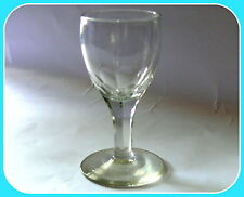 ANTIQUE GEORGIAN WINE GLASS TULIP BOWL, FLUTED BOWL AND STEM