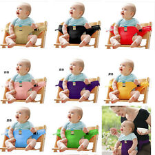 Baby Feeding Infant Booster Seat Toddler Child Dining Chair Safety Folding Belt