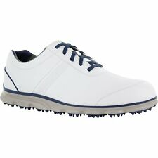 Mens Footjoy Dryjoys Casual  Closeout Golf Shoes 53644 White/Navy