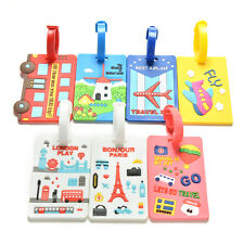 Luggage Tags Strap Name Address ID Suitcase Baggage Travel Label Tag 2016