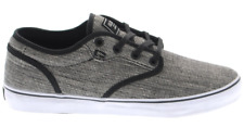 GLOBE MOTLEY BLACK WEAVE MENS CASUAL SKATE SHOES SNEAKERS SKATEBOARD CLEARANCE