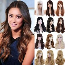Long Curly Straight Full Head Wigs Cosplay Party Fancy Dress Fast Ship Hair Wig