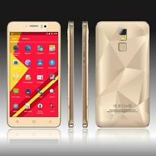 "Unlocked 5.5"" Smartphone 3G/2G Quad Core Dual SIM Android 5.1 8GB Mobile Phone"