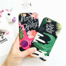 Retor Cool Bushes Crocodile Owl leopard Hard back Case Cover for iPhone6 6S Plus