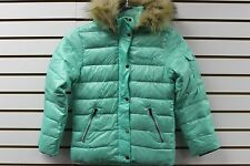 Marmot Girl's 700 Fill Hailey Down Jacket Ice Green 78730 Brand New With Tag