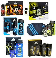 ADIDAS MENS PERFUME / AFTERSHAVE / DEO / WASH GIFT SET BRAND NEW **CHOOSE TYPE**
