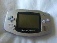 Nintendo Game Boy Advance Silver Console, gameboy gba