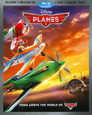 Planes (Blu-ray/DVD, 2013, 3-Disc Set, Includes Digital Copy 3D/2D)