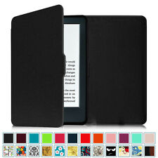 "All-New Kindle 6"" 2016 Amazon Kindle 8th Generation Leather Case Smart Cover"