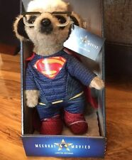 SUPERMAN LIMITED EDITION COMPARE THE MARKET MEERKAT TOY BNIB