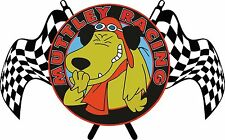 MUTTLEY RACING FUNNY CARTOON T SHIRTS MENS WHITE BLACK WOMENS KIDS ALL SIZES
