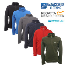 Regatta Mens Thompson Light Weight Half Zip Anti Pil Fleece FREE POST From £5.99