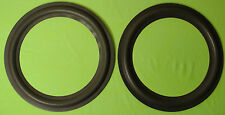 """PAIR INFINITY RSB 10 """" INCH WOOFER REPLACEMENT FOAM SPEAKER WOOFER SURROUNDS"""