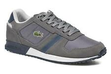 Men's Lacoste Vauban Snm Low rise Trainers in Grey