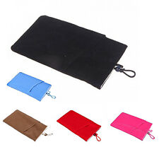 5X(Cloth Sleeve Bag Pouch Double Layer for Samsung Galaxy S5 S4 Note HY