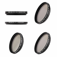 5X(Slim Fader Variable ND Filter Adjustable Neutral Density ND2 to ND400 HY