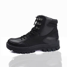Mens Safety Work Boots Shoes Army Tactical Hiking Combat Military Ankle Boots