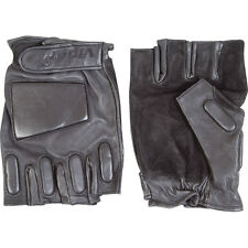 VIPER Tactical Leather Fingerless Gloves. NEW. Small, Medium or Large.