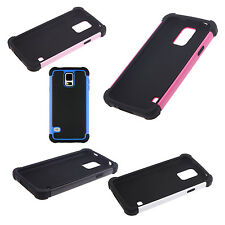 5X(Hard PC + Shock Absorbing Silicone Hybrid Case for Samsung Galaxy S5 HY