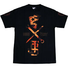 Twitch Famous Stars and Straps JS Camo T-shirt Black Red