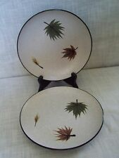 Harmony House Maple Leaf Salad Plates Set of 2