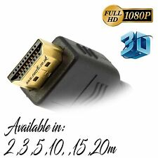 HDMI PREMIUM GOLD Cable Male to Male HDTV 3D 1080P Full HD Lead