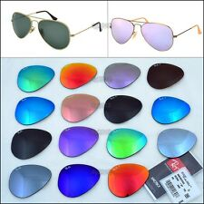 Ray-Ban Replacement Lenses for RB3025, RB3026 Aviator 58mm 3025 and 62mm 3026